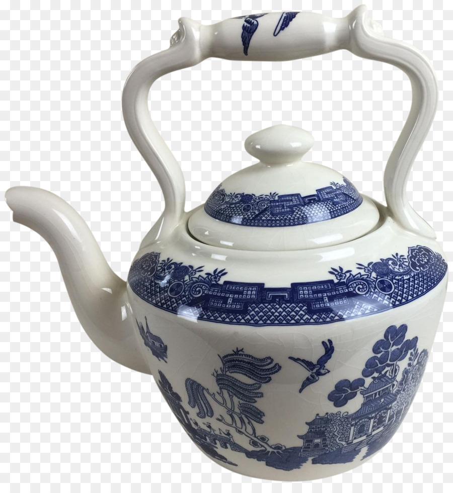 333f703e8235 Посуда Чайник Заварочный Чайник Керамика Фарфор - синий и белый фарфор