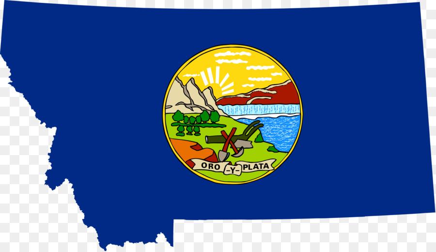 Bandera de Montana Bandera de los Estados unidos bandera del Estado ...