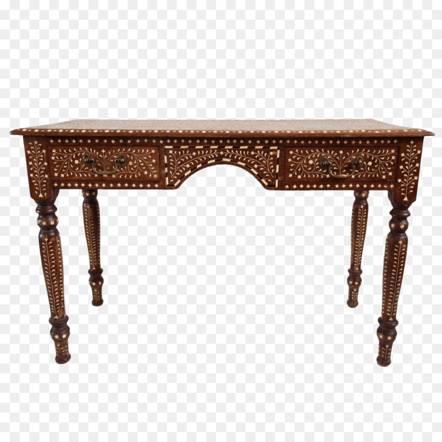 Table Inlay Queen Anne Style Furniture Couch Desk