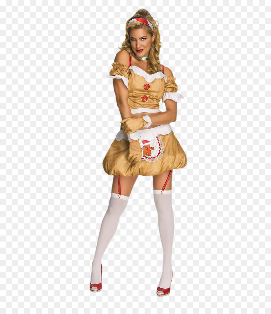 halloween costume clothing woman gingerbread man woman