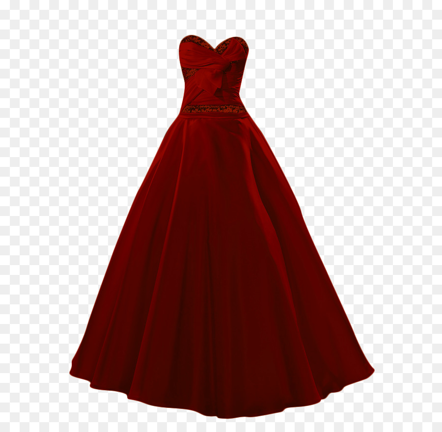Ball gown Maroon Prom Dress - dress png download - 683*875 - Free ...