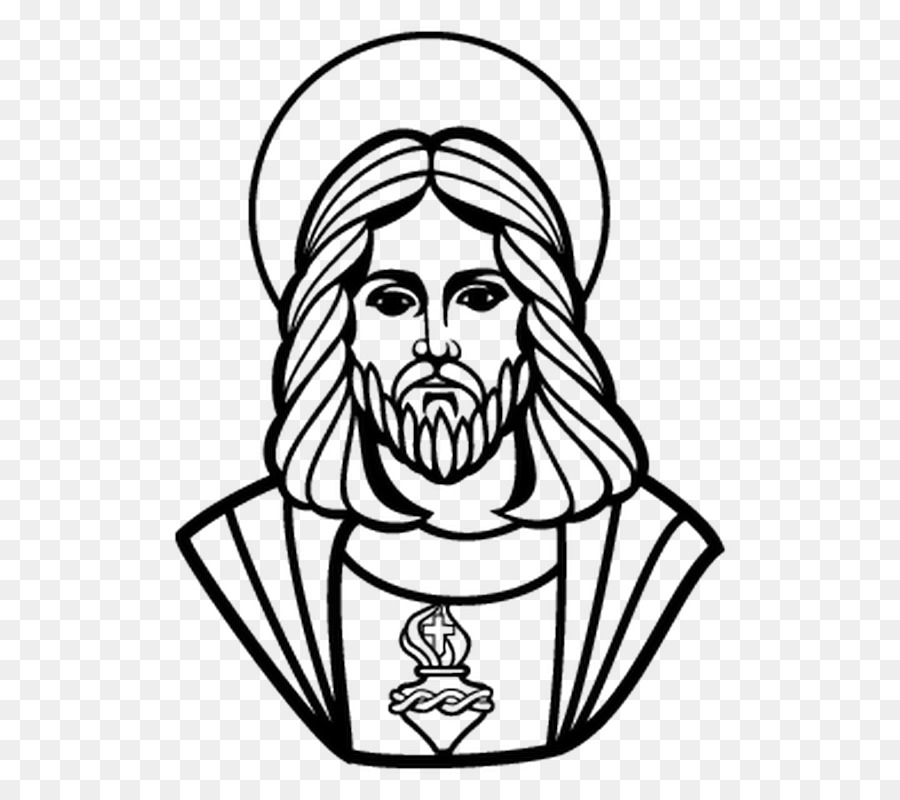 Jesus Drawing Catholic Church Clip Art