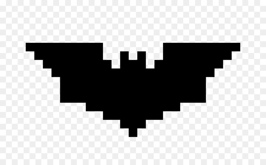 Batman Pixel Art Minecraft Wonder Woman Batman Logo Png Download