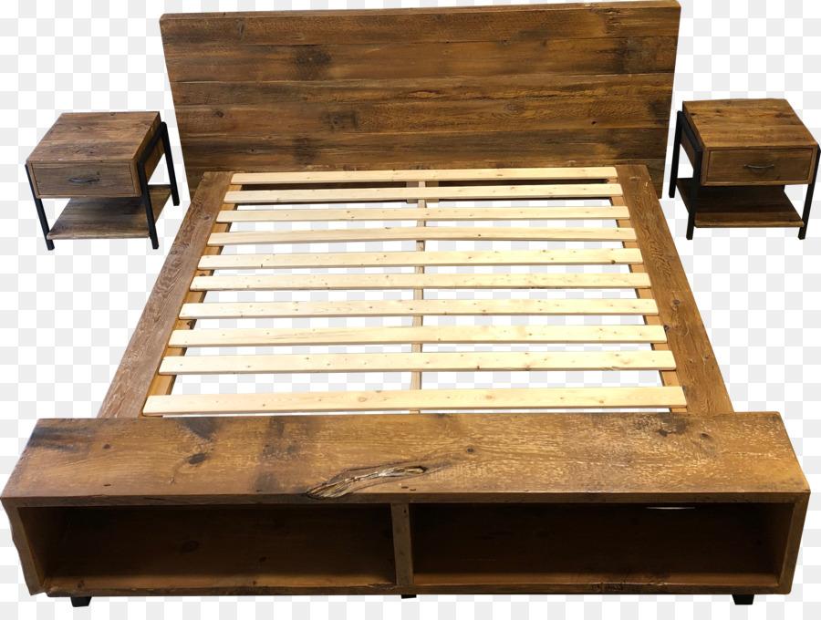 Marco de la cama de cama de Plataforma Mesa de madera Reciclada ...