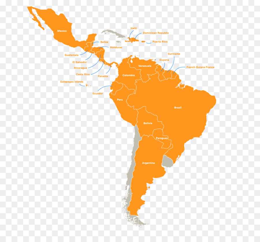 Map Of America Png.South America Latin America Vector Map Map Png Download 1747