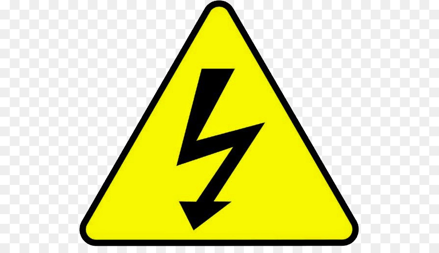 High Voltage Electricity Warning Sign High Voltage Png Download