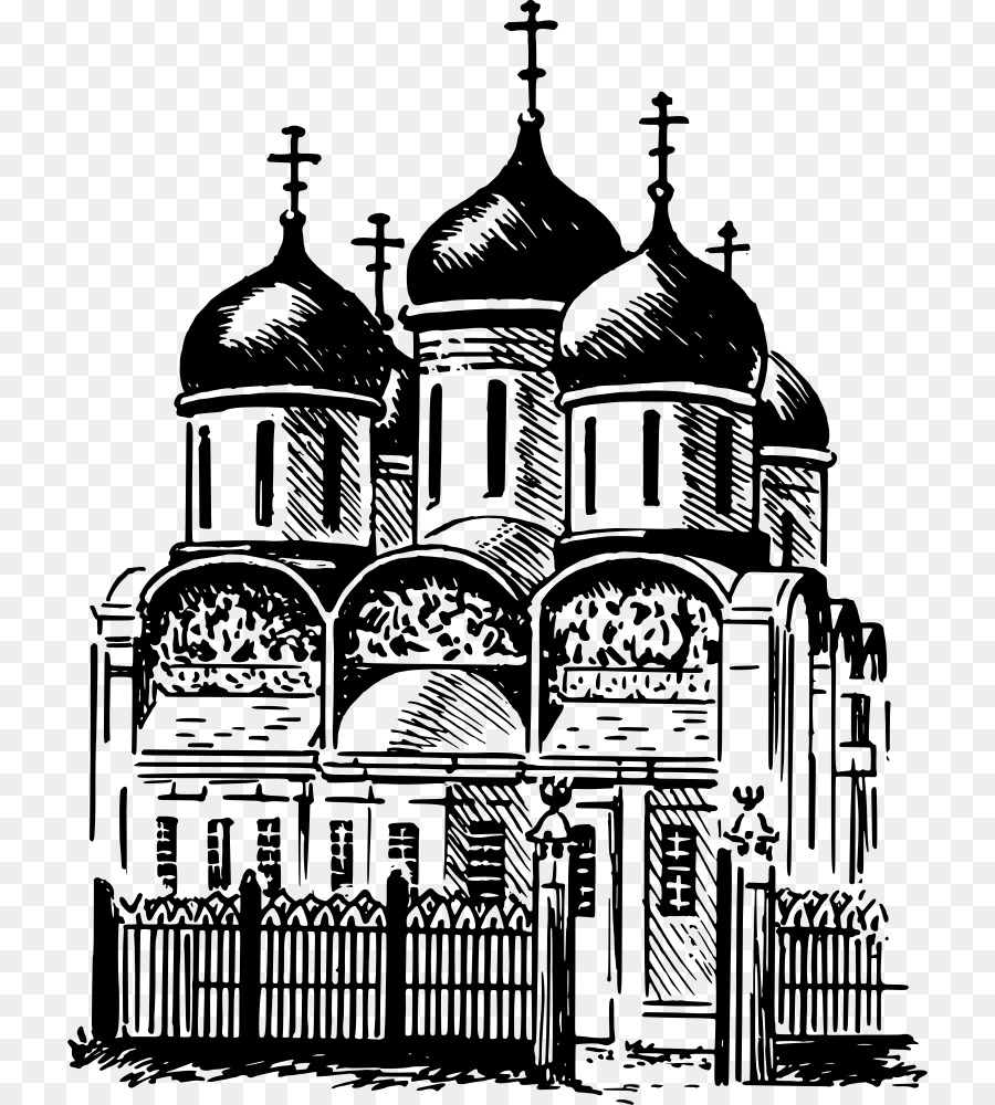 Byzantine Architecture Drawing Medieval Clip Art