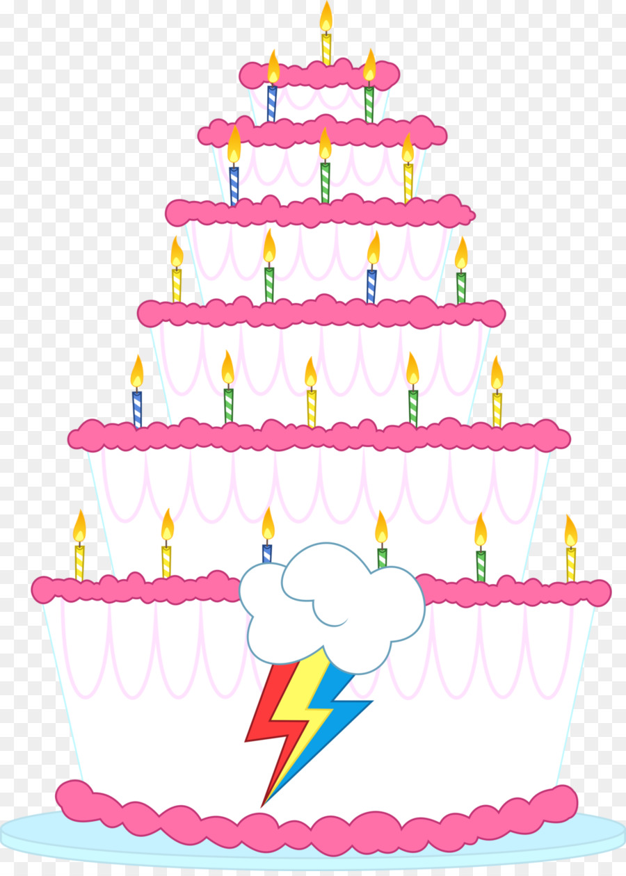 Rainbow Dash Pinkie Pie Birthday Cake Sugar Decorating PNG