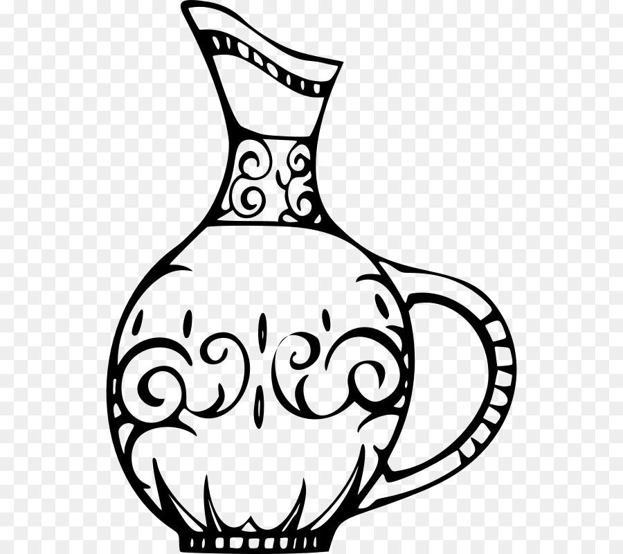 Vase Sketch Vase Flower Png Download 594800 Free Transparent