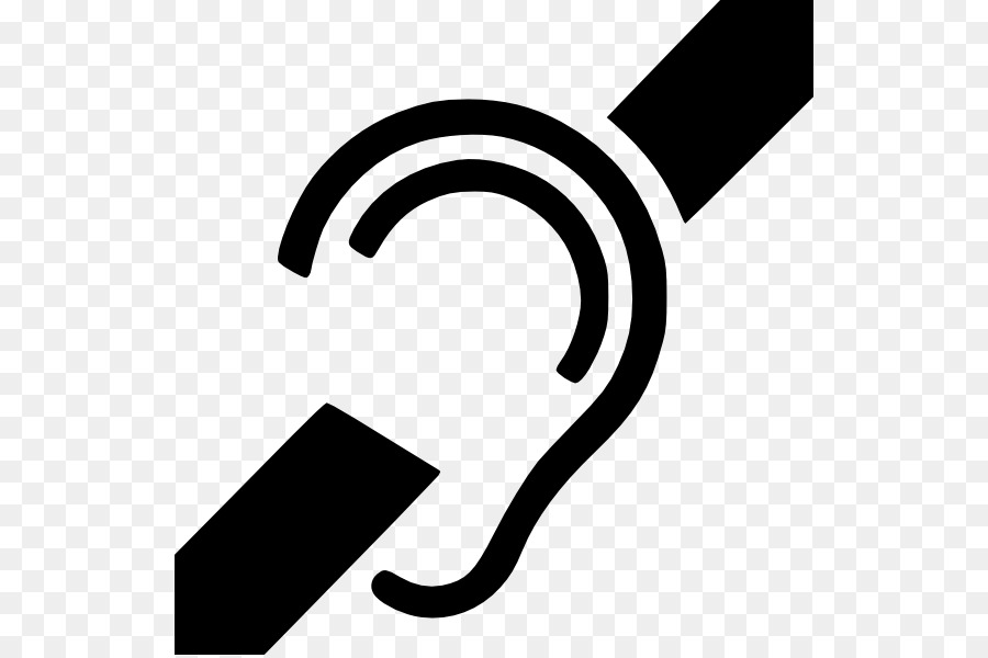 Deaf Culture Hearing Loss Symbol Sign Language Clip Art Symbol Png
