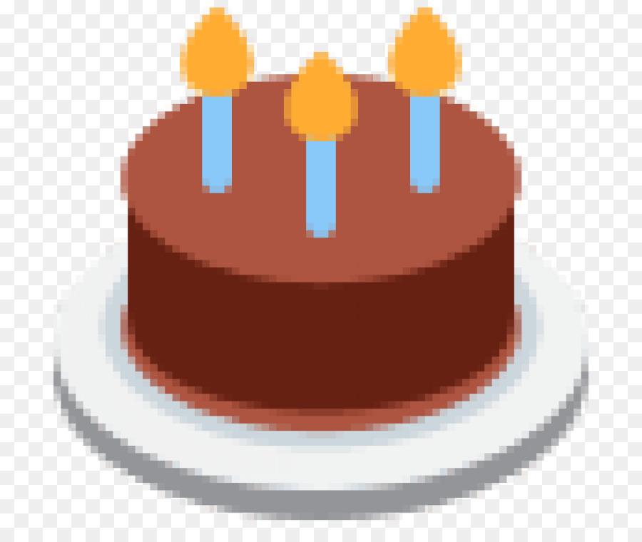 Birthday Cake Emoji Emoticon Text Messaging SMS
