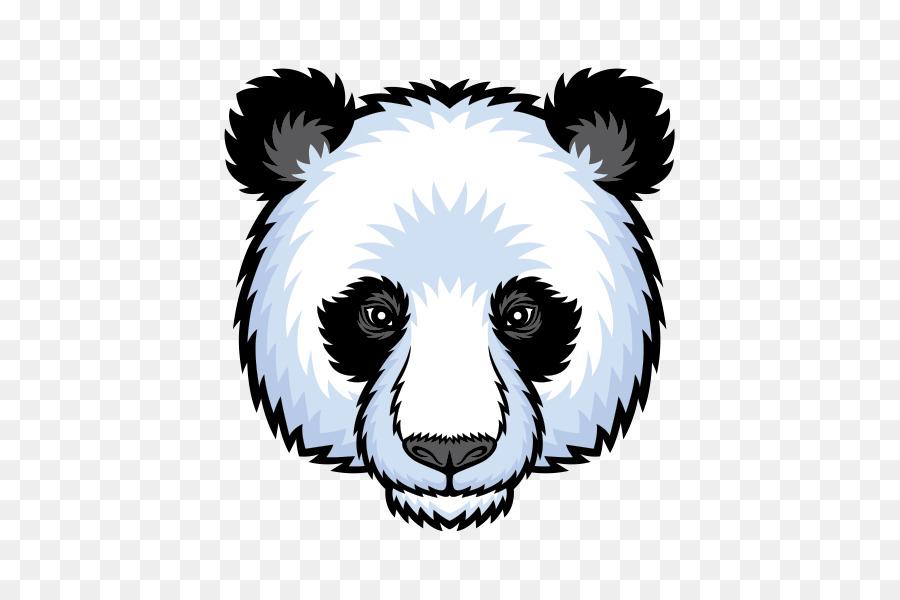 giant panda bear logo bear