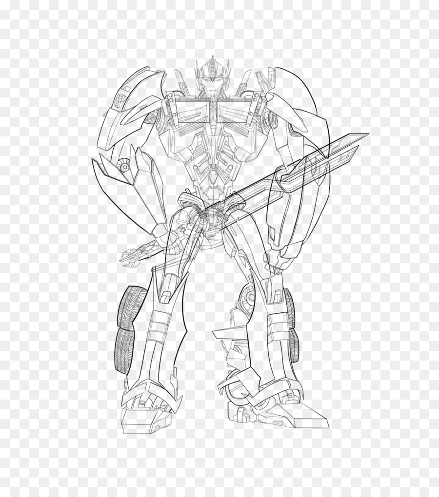Optimus Prime Wheeljack Line Art Drawing Sketch Transformers Png