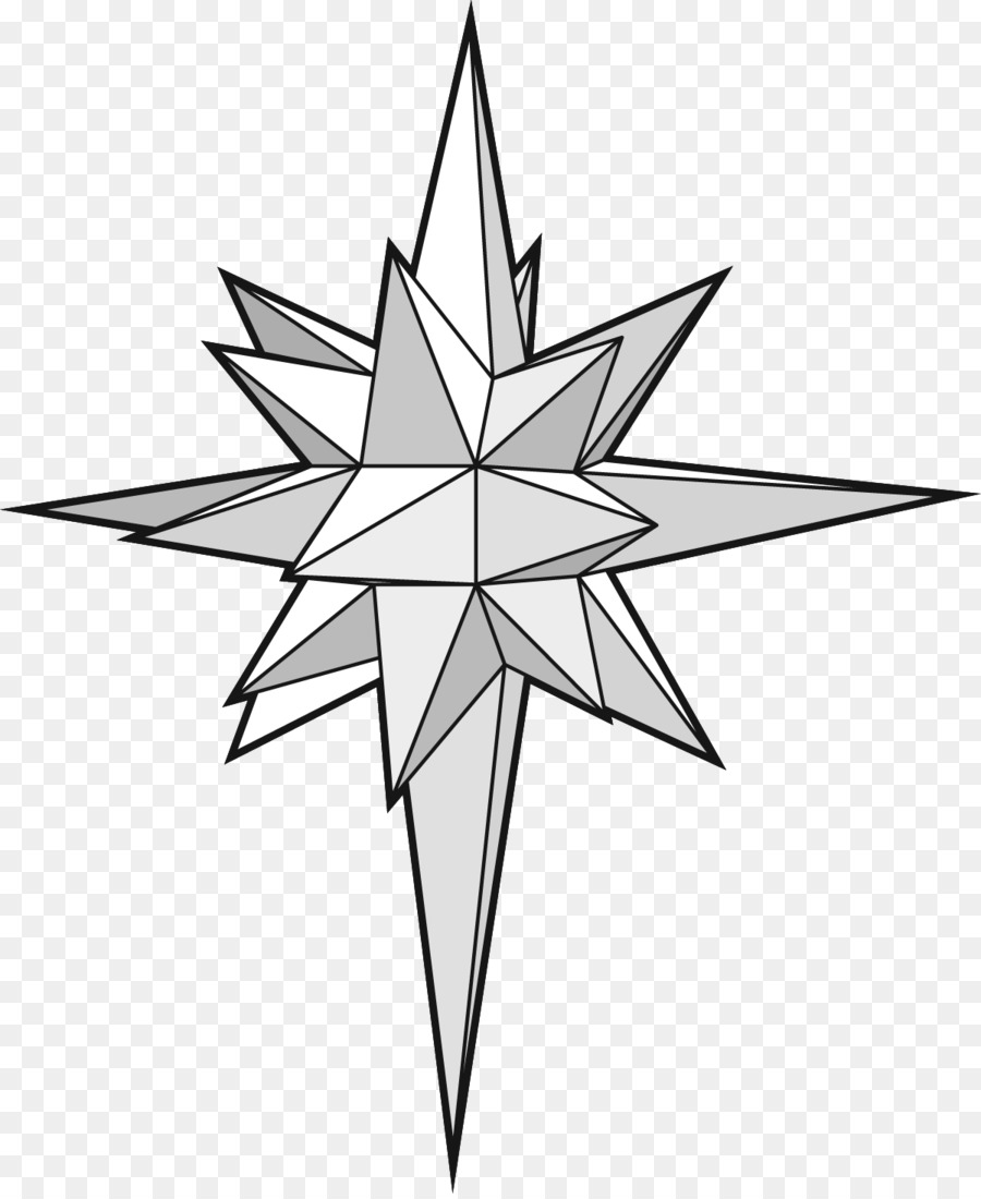 star of bethlehem drawing paper star png download 1201 1461