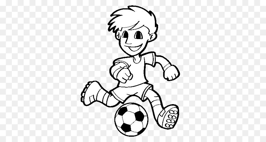 Jugador de fútbol libro para Colorear Deporte - fútbol Formatos De ...