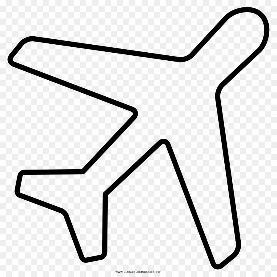 Avión de Dibujo de libro para Colorear en blanco y Negro - natal ...