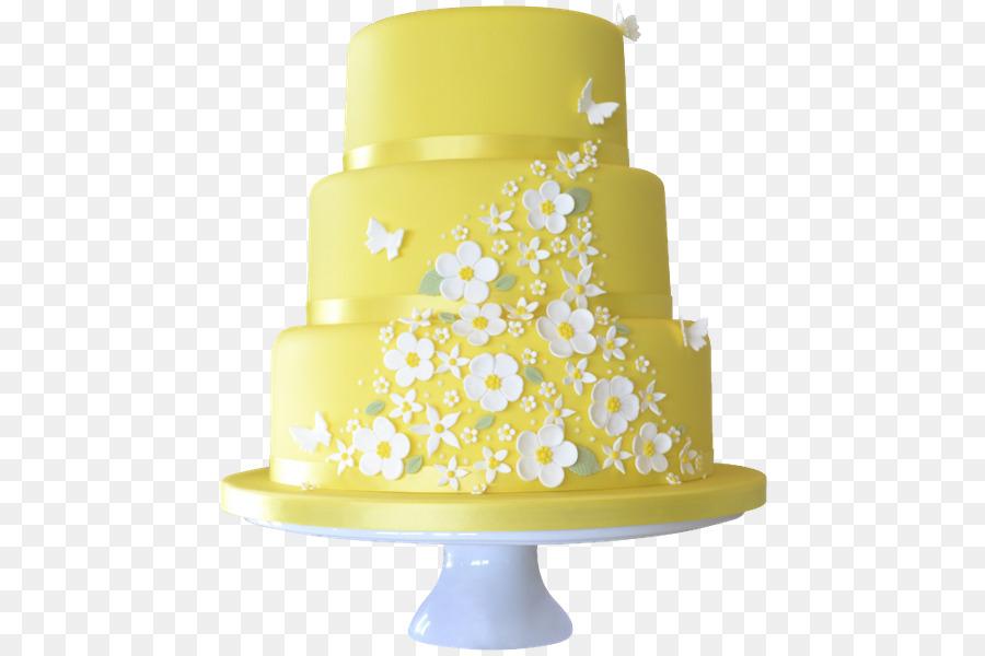 Hochzeitstorte Geburtstagstorte Gelb Hochzeitstorte Png