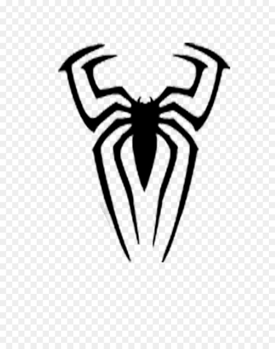 Spider-Man Stencil Drawing Schablone - spider-man png download ...