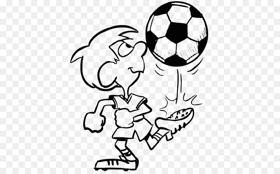 Libro para colorear jugador de Fútbol de Dibujo - fútbol Formatos De ...