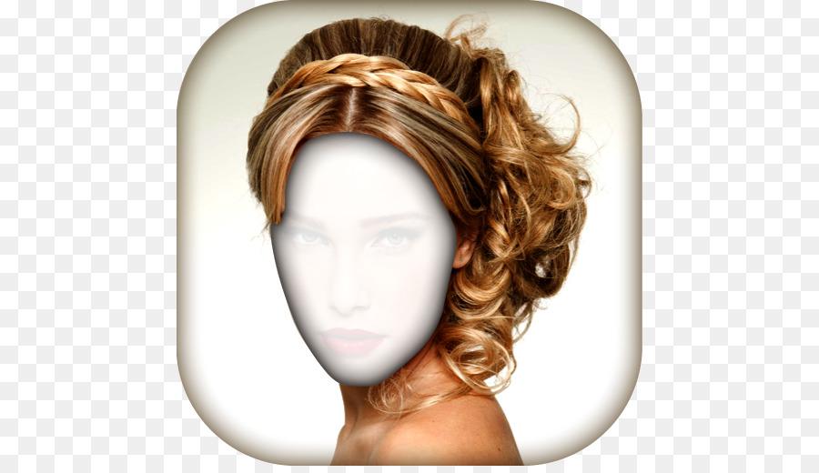 Hair Iron Hairstyle Braid Long Hair Hair Png Download 512512