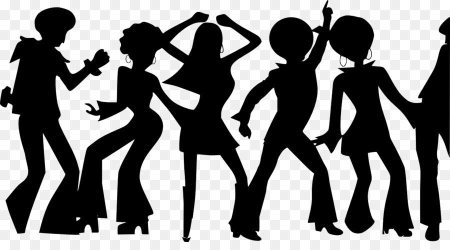1970s Disco Dance Clip Art