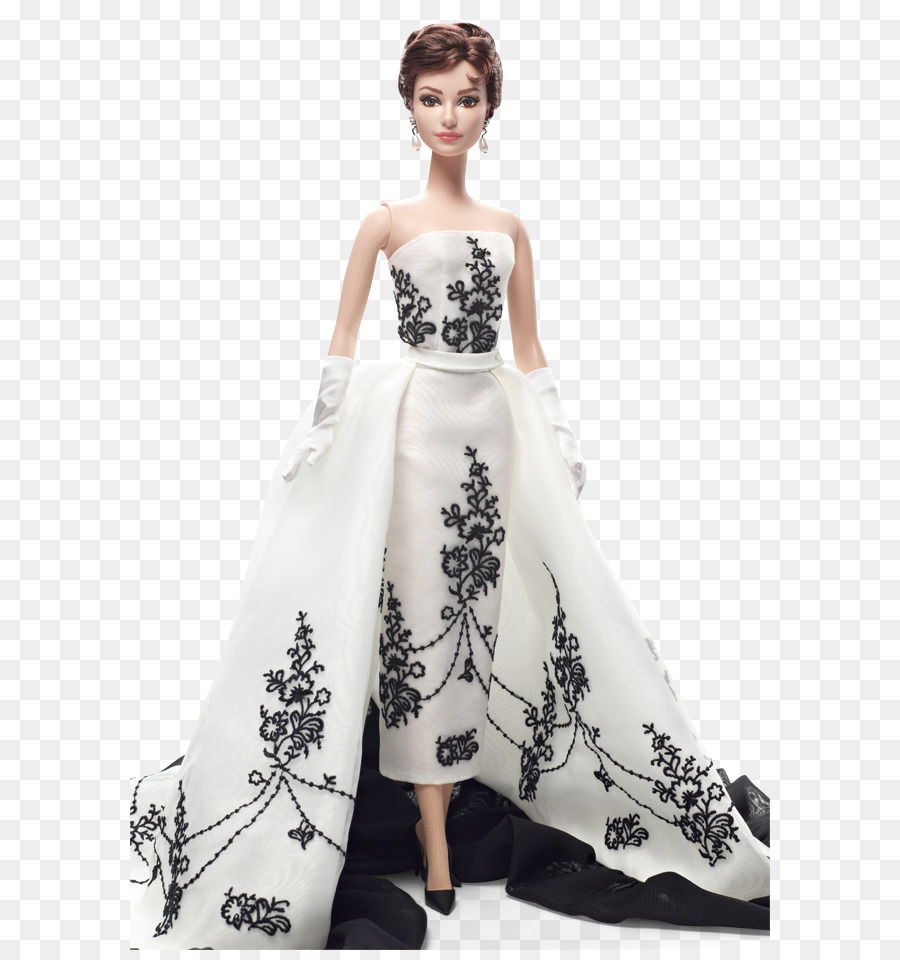 Barbie Doll Black Givenchy dress of Audrey Hepburn Toy Fashion ...
