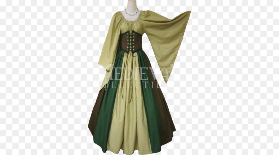 Vestidos de mujer de la edad media