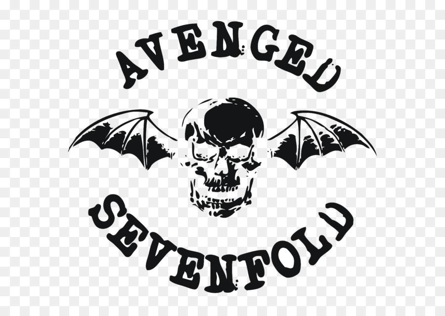Avenged Sevenfold Logo Rock Band Rock Band Png Download 1600
