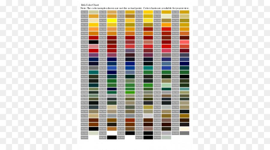 Ral Colour Standard Color Chart Paint Sheen Paint Png Download