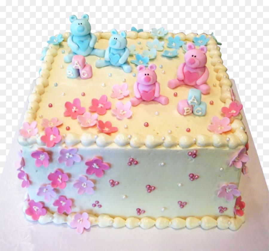 Birthday Cake Sheet Cake Cake Decorating Baby Shower Baby Gender