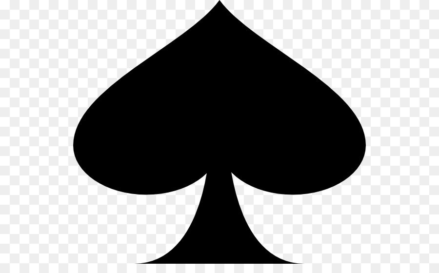 Ace Of Spades Suit Playing Card Clip Art Ace Spade Png Download