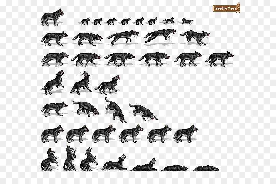 Wolf Cartoon png download - 690*600 - Free Transparent Rpg