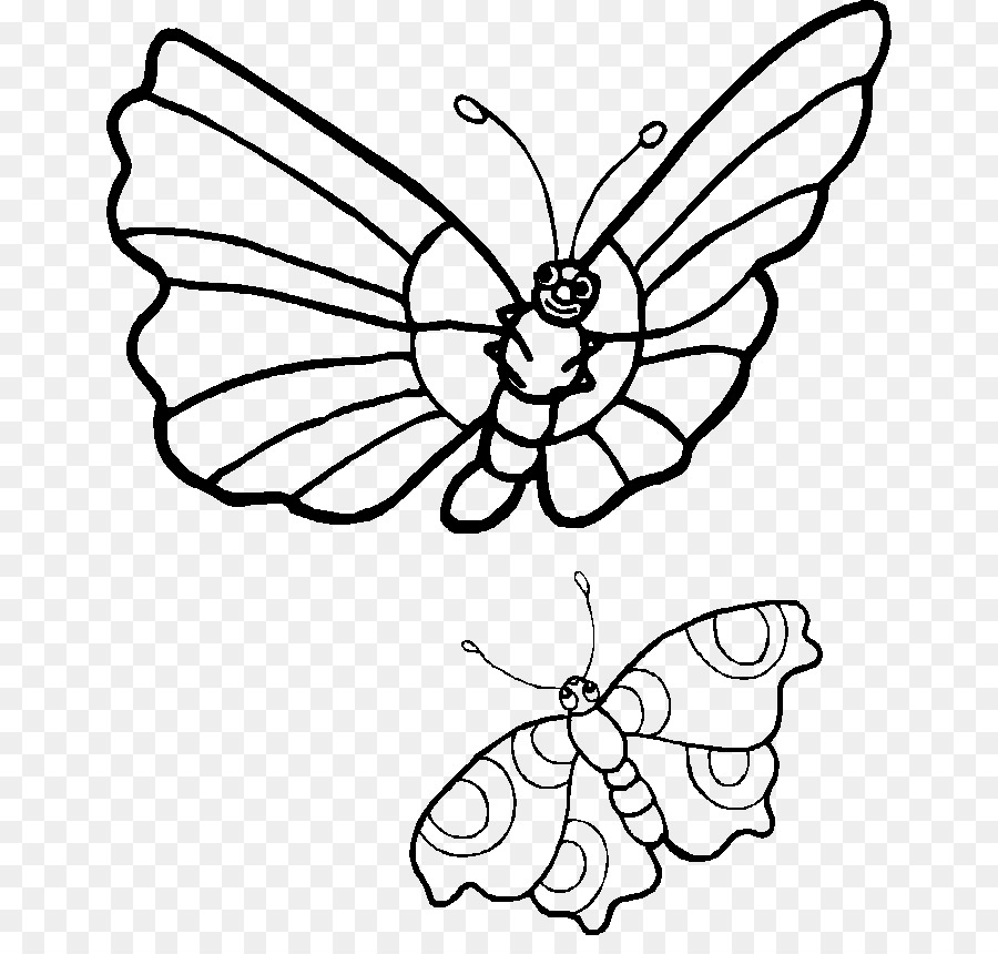 Butterfly Drawing Clip Art