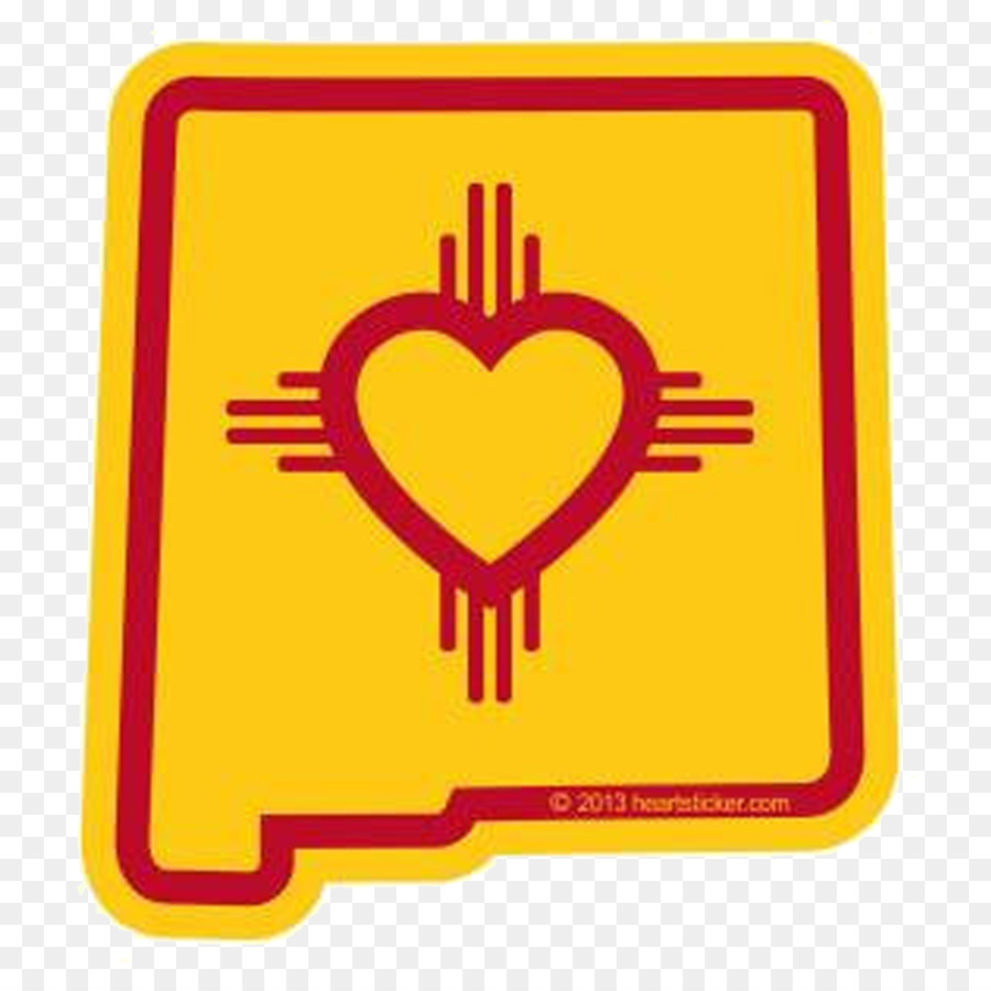 Flag Of New Mexico Decal Bumper Sticker Symbol Png Download 2048