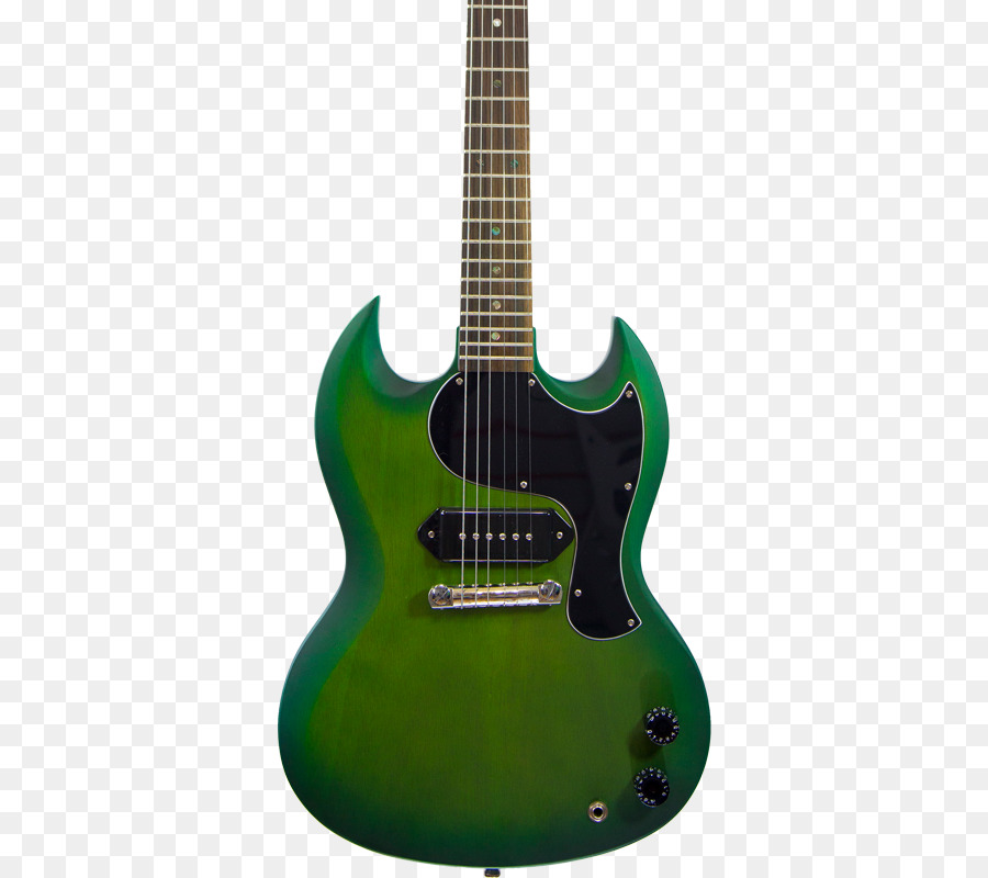 Guitarra eléctrica Gibson SG Junior Glasgow Bajo de la guitarra ...