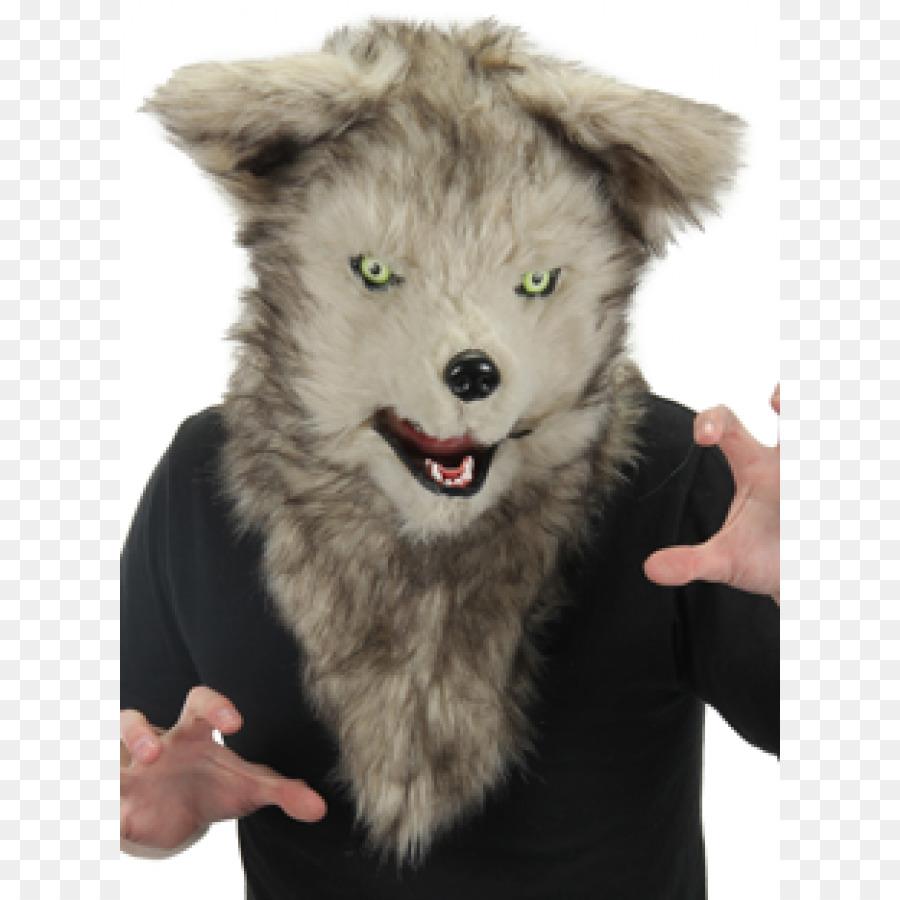 Gray wolf Mask Halloween costume Werewolf - mouth dog & Gray wolf Mask Halloween costume Werewolf - mouth dog png download ...