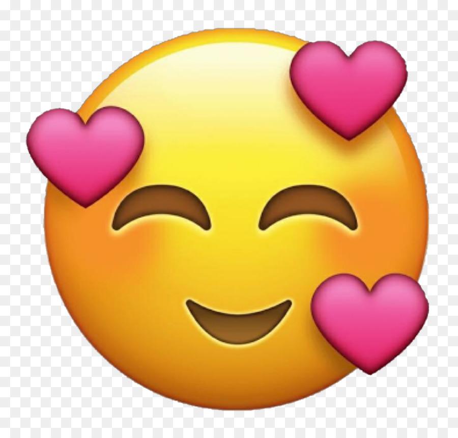 Emoji Emoticon Heart Love Sticker