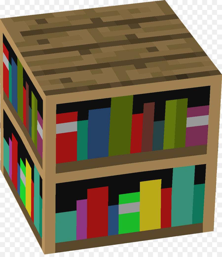 Minecraft: Pocket Edition-Bücherregal-Möbel-Schlafzimmer - Minecraft ...
