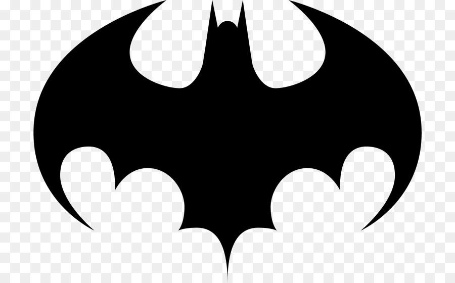 batman joker logo silhouette decal batman png download 768 558