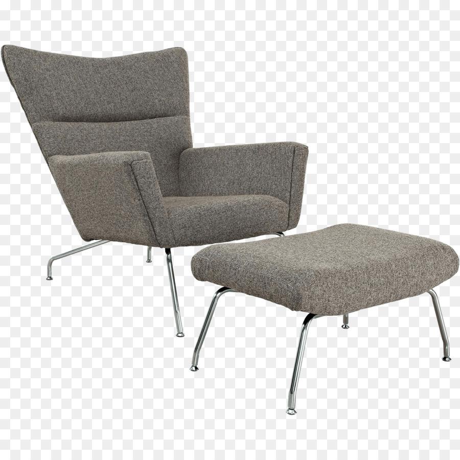 Fesselnd Eames Lounge Chair Wohnzimmer Wing Chair Fußstützen   Sessel