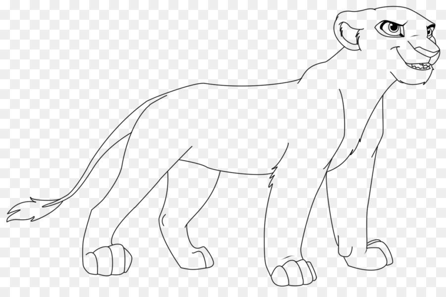 Kiara El León Muf del Nala Cicatriz - león png dibujo - Transparente ...