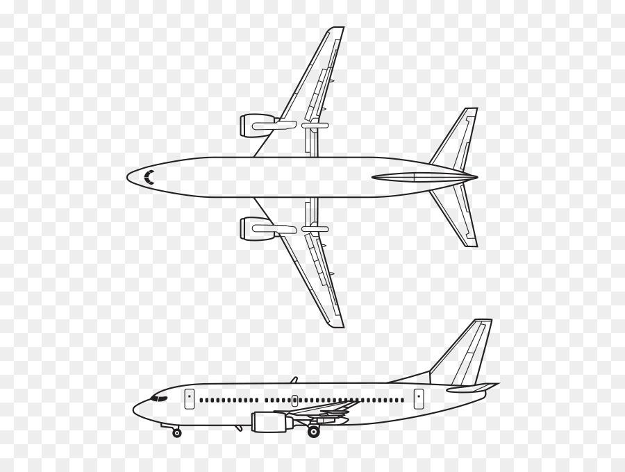 Boeing 737 Avión de fuselaje Estrecho de aviones Airbus A380 - línea ...