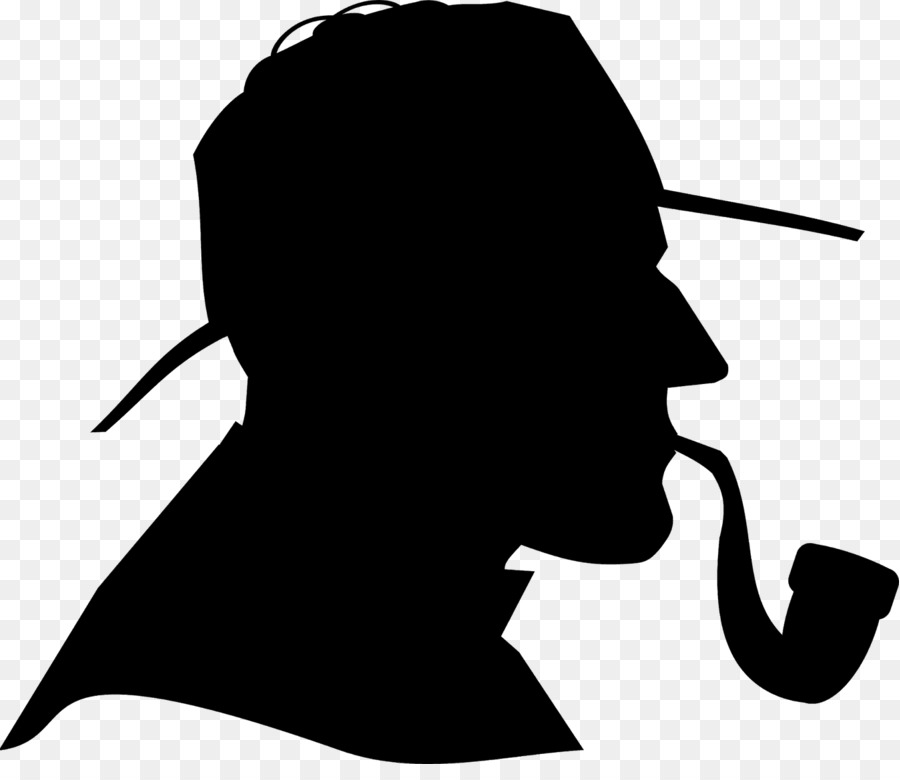 detective sherlock holmes clip art silhouette png download 1600 rh kisspng com sherlock holmes hat clip art sherlock holmes clip art images