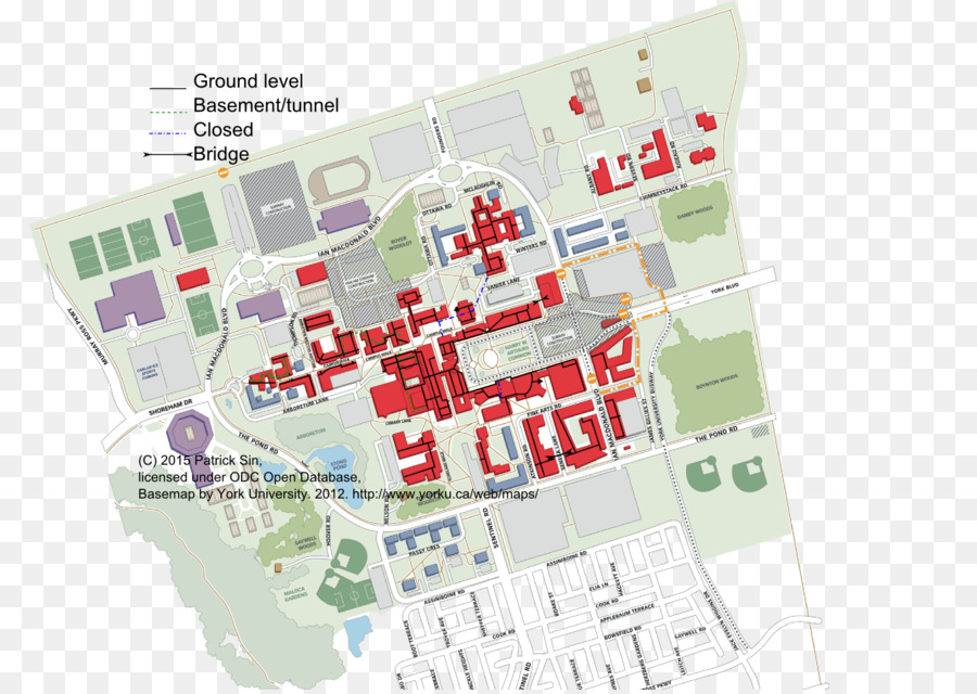 Vanier College At York University Keele University Keele Campus Map