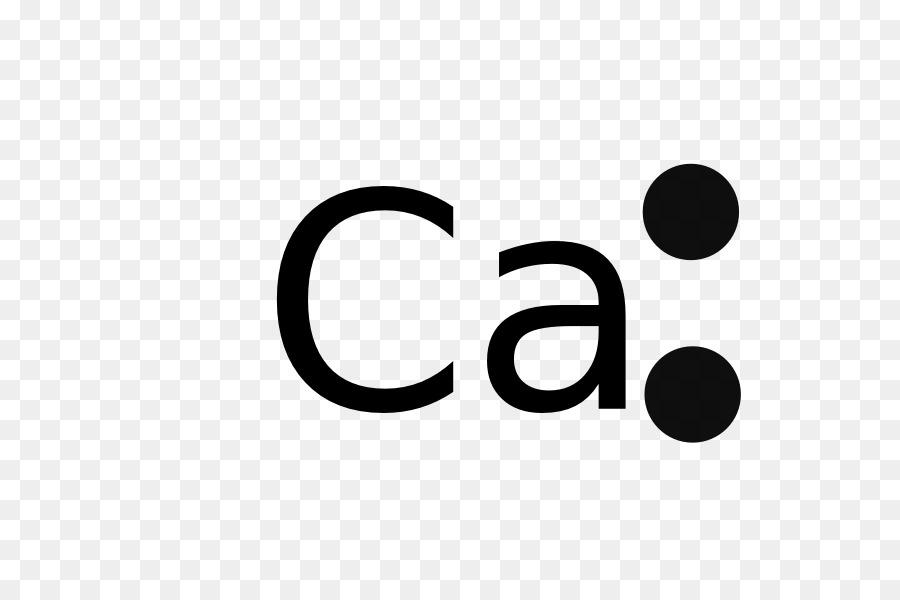 Lewis Structure Calcium Electron Chemistry Diagram Dot Formula Png