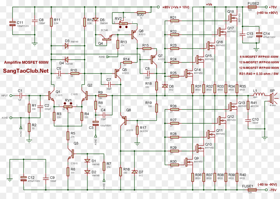 Cool Mosfet Power Amplifier Classes Circuit Diagram Field Effect Wiring Database Plangelartorg