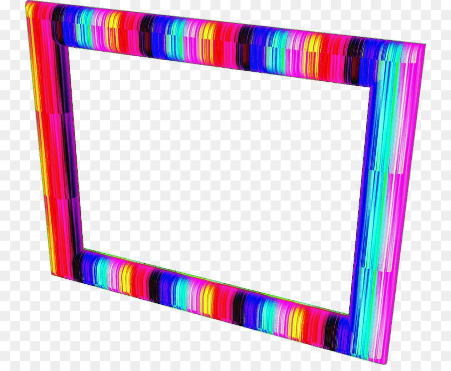 Picture Frames Purple Line - brushwork tosca color png download ...