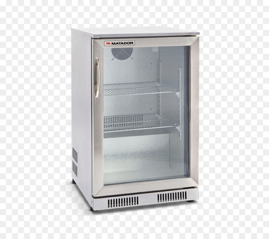 Refrigerator Minibar Sliding Glass Door Window Barbecue Stainless