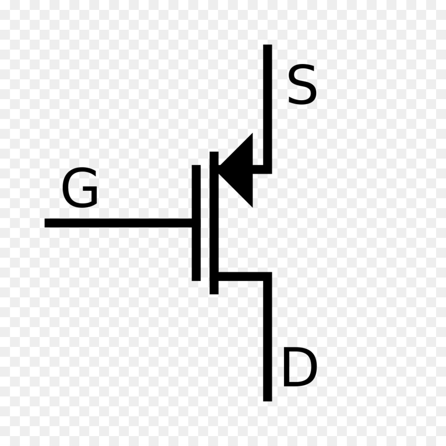Mosfet Field Effect Transistor Electronic Symbol Jfet Mos Png