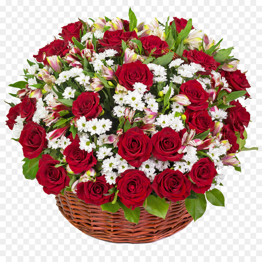 flower bouquet food gift baskets rose a basket of flowers png